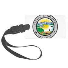 Alaska State seal Luggage Tag
