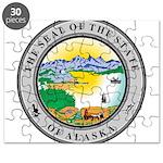 Alaska State seal Puzzle