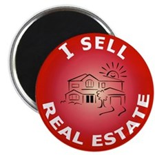 I SELL Real Estate Circle- Magnet