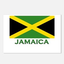 Jamaica Flag Stuff Postcards (Package of 8)