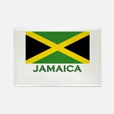 Jamaica Flag Stuff Rectangle Magnet