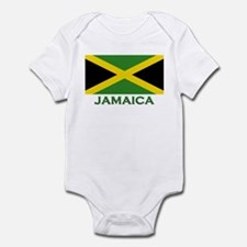 Jamaica Flag Stuff Infant Bodysuit