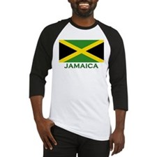 Jamaica Flag Stuff Baseball Jersey