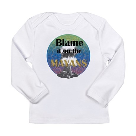 Mayan Armageddon Long Sleeve Infant T-Shirt