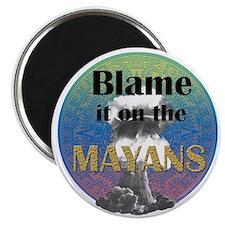 Mayan Armageddon Magnet