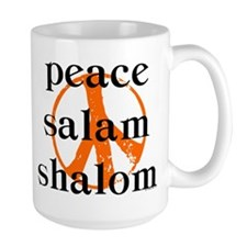 Peace Salam Shalom Mug