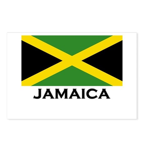 Jamaica Flag Gear Postcards (Package of 8)