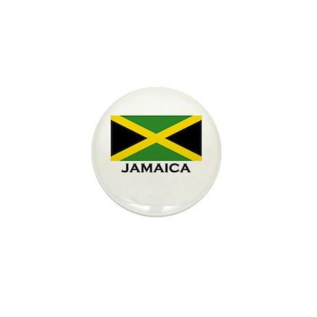 Jamaica Flag Gear Mini Button
