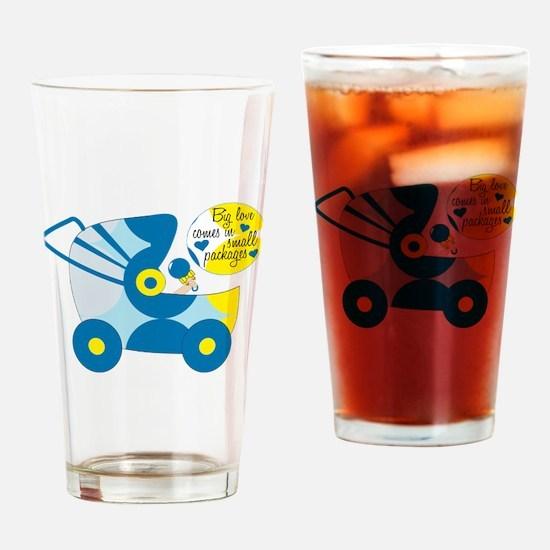 Big Love Drinking Glass