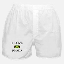 I Love Jamaica Boxer Shorts