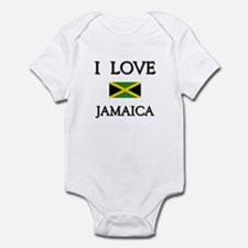 I Love Jamaica Infant Bodysuit