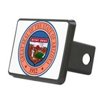 Great Seal of Arizona Rectangular Hitch Cover