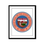 Great Seal of Arizona Framed Panel Print