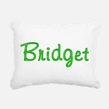 Bridget Glitter Gel Rectangular Canvas Pillow