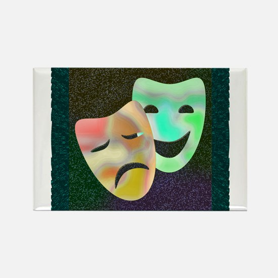 Cute Broadway theatre Rectangle Magnet