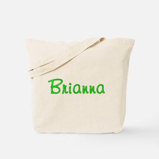 Brianna Glitter Gel Tote Bag
