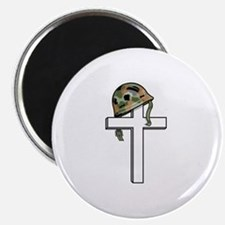 """Solidier Remembrance Cross 2.25"""" Magnet (10 pack)"""