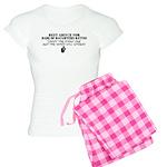 Dad's Dating Advice Women's Light Pajamas