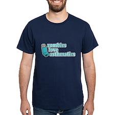 Funny! Zombies Love Asthmatics T-Shirt
