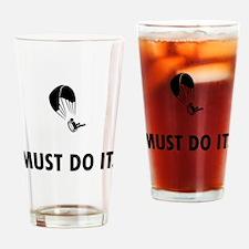 Paramotoring Drinking Glass