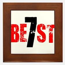 Best 7 Framed Tile