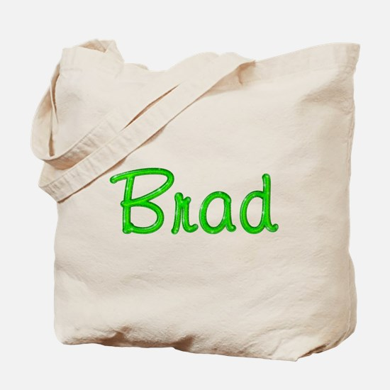 Brad Glitter Gel Tote Bag