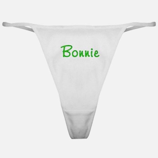 Bonnie Glitter Gel Classic Thong