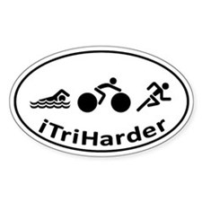 iTriHarder Decal