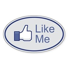 Facebook Like Me Icon Auto Decal