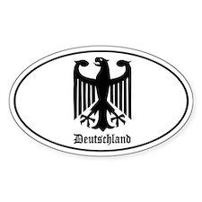 Deutschland (German) Eagle Decal
