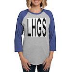 LHGS copy.png Womens Baseball Tee