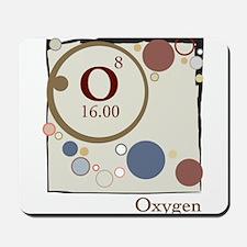 Oxygen Periodic Square Mousepad