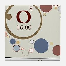 Oxygen Periodic Square Tile Coaster