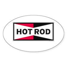 HOT ROD LOGO Rectangle Decal