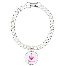 I Love/Heart Geckos Bracelet