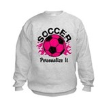 Girls soccer Crew Neck
