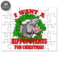 Hippopotamus for Christmas Puzzle