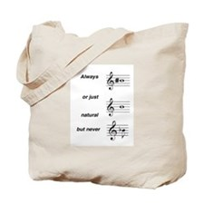 Always b Sharp Tote Bag