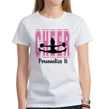 Personalized Cheer Design Tee