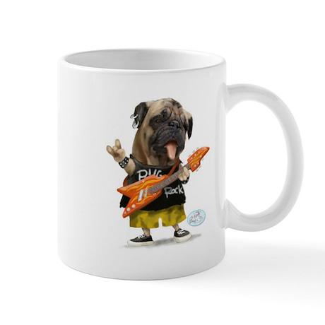Pug Rocker Mugs