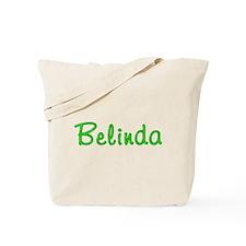 Belinda Glitter Gel Tote Bag