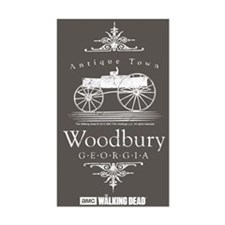 Walking Dead Woodbury Georgia Decal