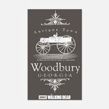 Walking Dead Woodbury Georgia Decal