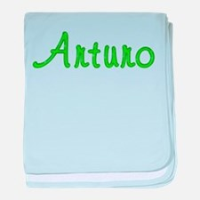 Arturo Glitter Gel baby blanket