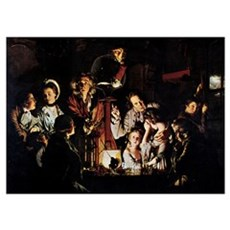 The Airpump by Joseph Wright Poster