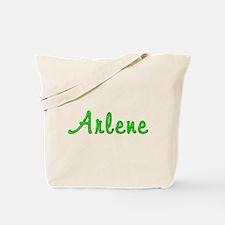 Arlene Glitter Gel Tote Bag