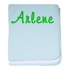 Arlene Glitter Gel baby blanket