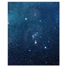 The constellation of Orion Canvas Art