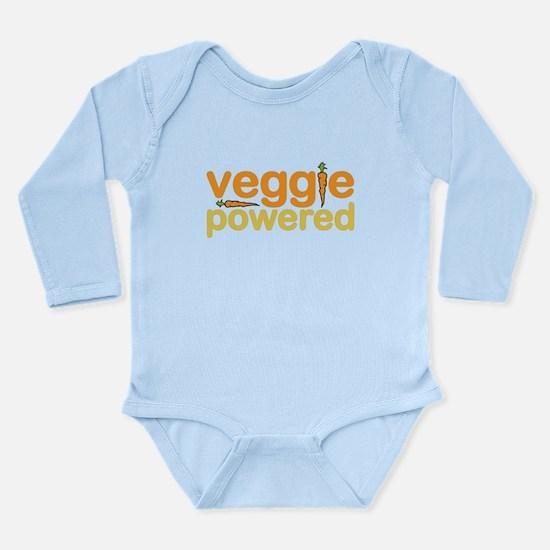 Veggie Powered Long Sleeve Infant Bodysuit