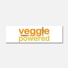 Veggie Powered Car Magnet 10 x 3